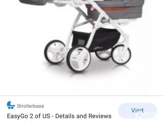 Twin Stroller Baby Walker