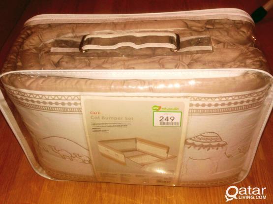 Baby cot bumper set (new)