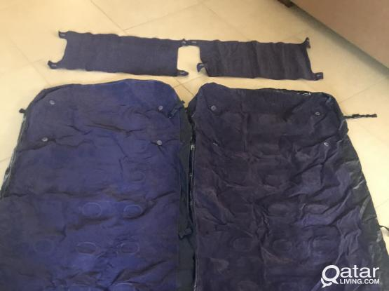 Airbed set for camping or extra bed