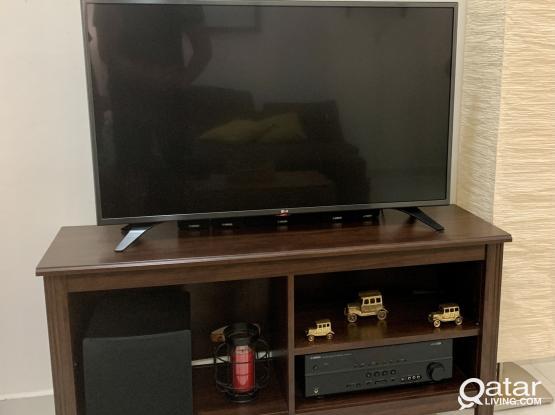 IKEA Wooden TV Bench