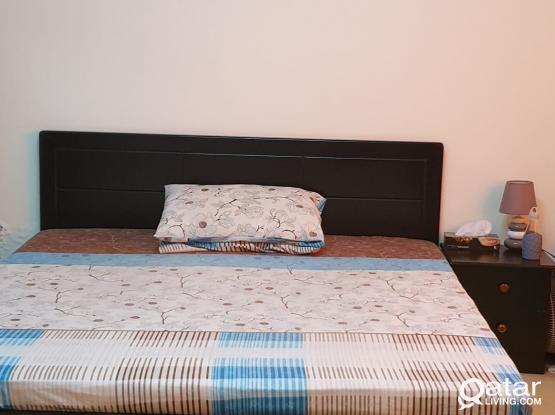 Bed Frame + Side Table