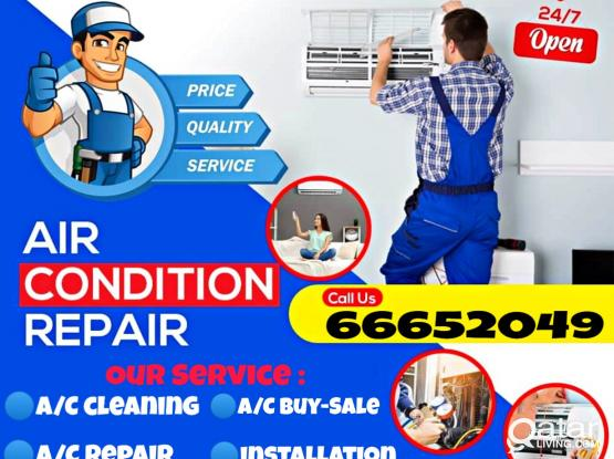 All kinds of A/C  Selling, Buying, maintenance, Repair,Servicing available here. Just Call: 66652049