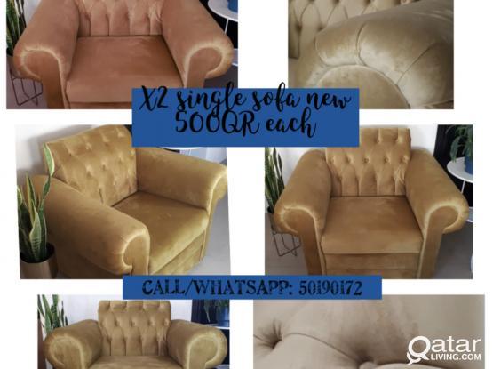 Sofa single for sale