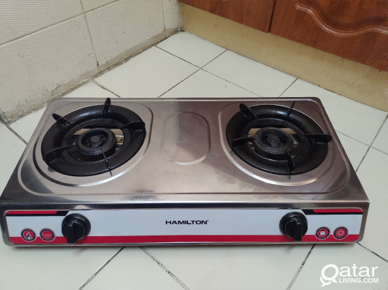 Hamilton Gas Stove with all accessories.