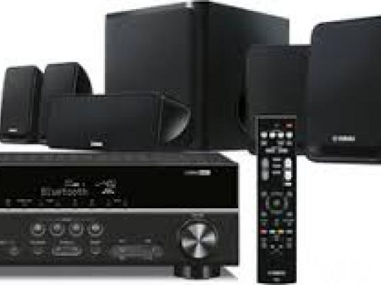 Yamaha - 5.1 ch AV receiver with five speakers