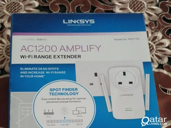 Linksys RE6700 AC1200 Dual Band High-Power Wi-Fi Range Extender- Repeater