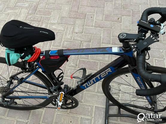 Tweeter road bike almost brand new...
