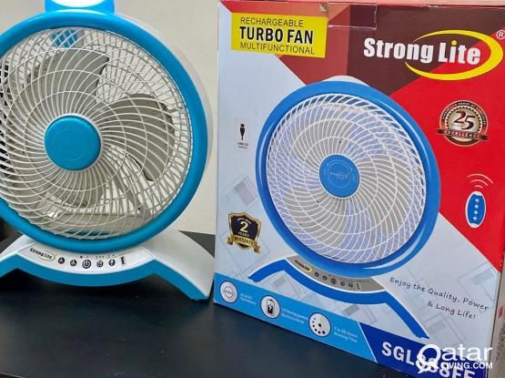 Excellent Condition Portable Fan With Light