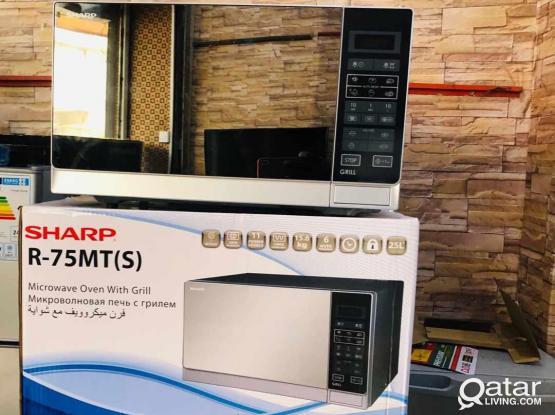 Brand new Sharp Microwave under warranty