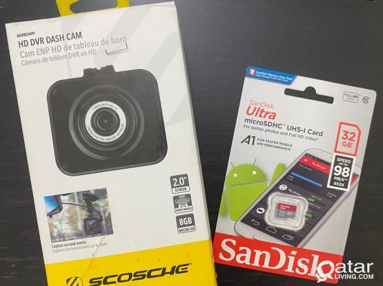 Brand New HD DVR Dash Camera & SD Card Bundle