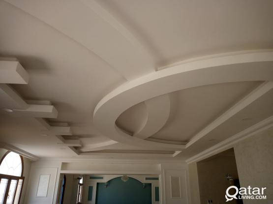 All Paint Decor/Gypsum/G.R.C/Marble/Tiles/Wallpaper/Kitchen cabinet/Maintenance works.50040995