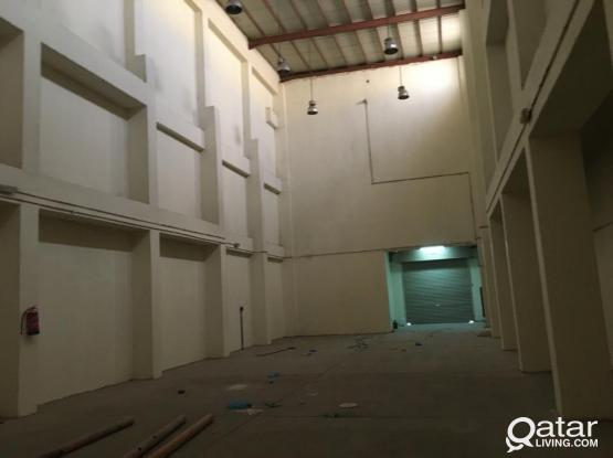 Storage for Rent in Industrial Area