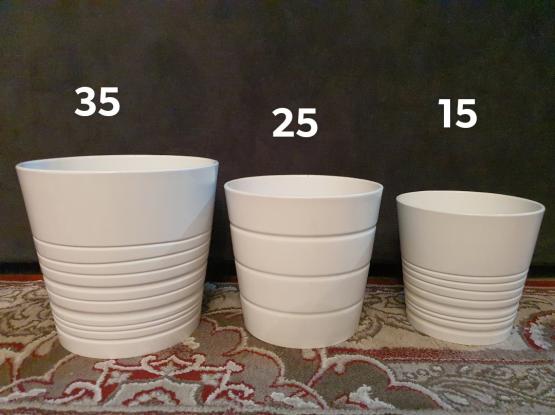 Ikea Ceramic Pots