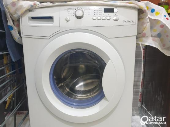 Washing machine haier like  new
