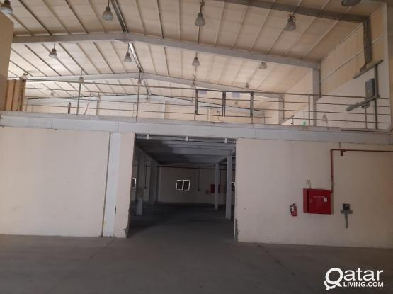 1000 SQUARE METER STORE WITH 6 ROOMS FOR RENT IN INDUSTRIAL AREA