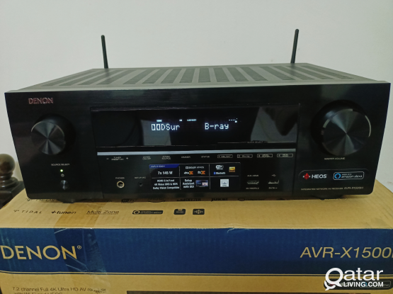 DENON 7.2 CHANNEL DOLBY ATOMS 4K AVR/AMPLIFIER
