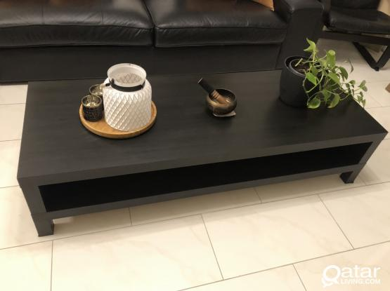 TV table, coffee table, and desk