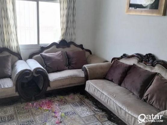 Sofa Set - 06 Seater - Urgent Sale