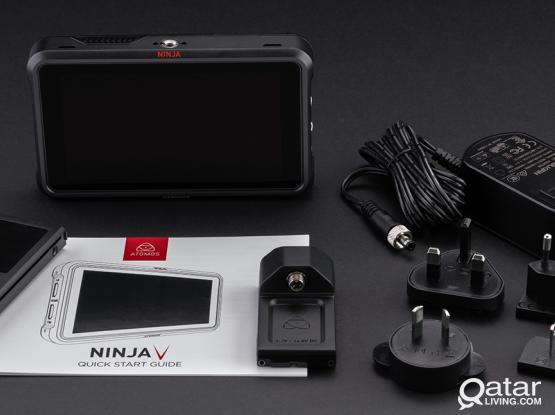 Atomos ninja v external 4k recording  system