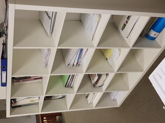 IKEA book rack