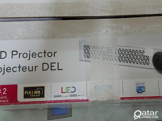 LG led projector.