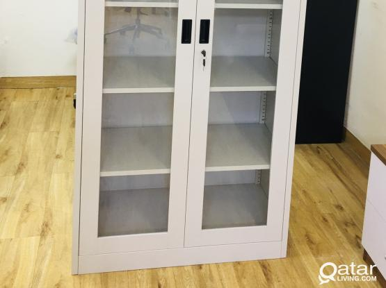 BOOK SHELVE WITH GLASS DOOR - PH- 77850533