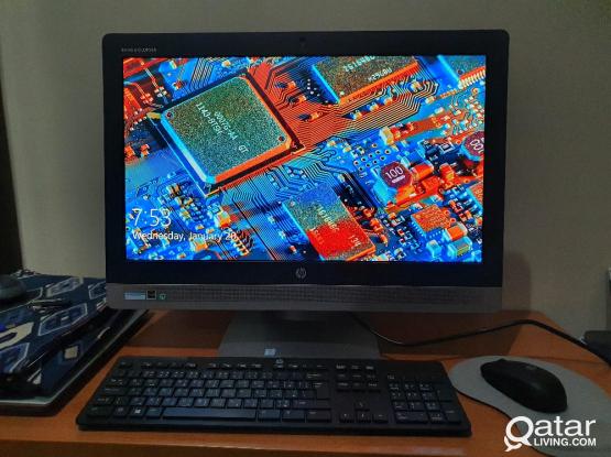 HP All-in-One PC Core-i7(6th Gen)@3.40GHz, 8GB RAM