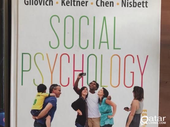 Psychology Books (Cognitive and Social)