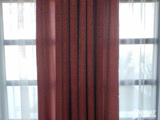 curtains (10 pieces)