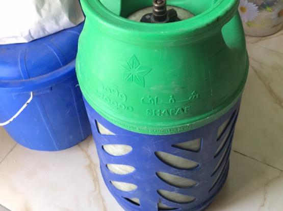 Empty Shafaf Gas Cylinder With Regulator & Hose