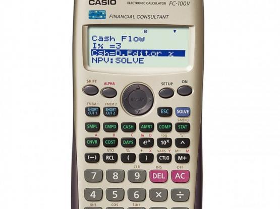 Casio Financial & Scientific Calculators