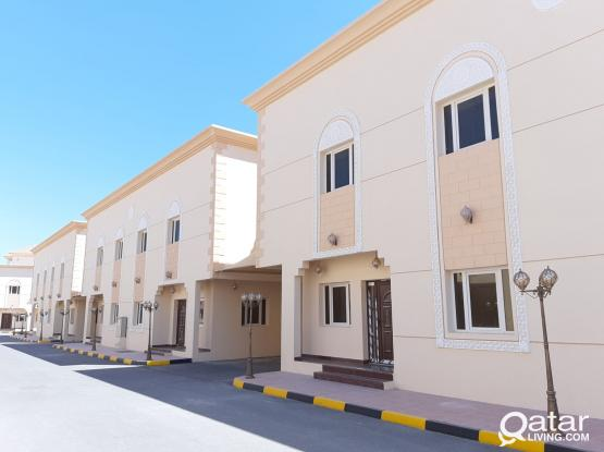"7 BEDROOMS STAFF accommodation compound villa at markhiya"""