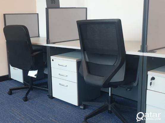Hot Offer - Outstanding Office for Rent in Doha for Qar. 2,000
