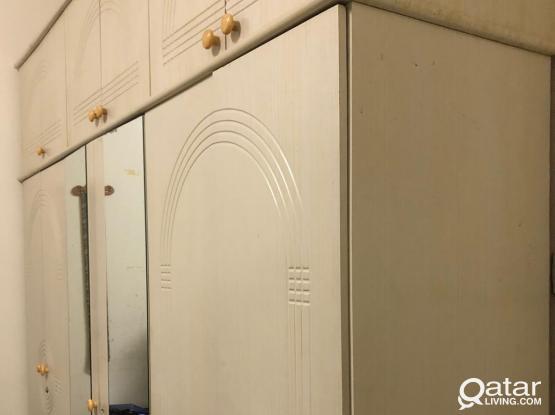 6 door wardrobe with 6 door cabinet/chester
