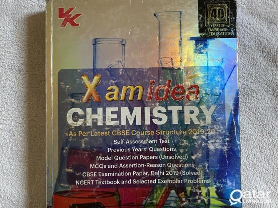 CBSE CLASS 12 XAM IDEA CHEMISTRY AND PHYSICS GUIDE