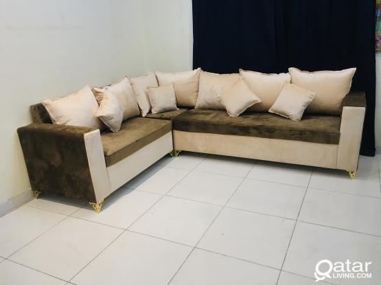 For Sale L shape sofa