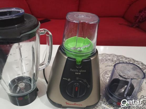 Moulinex Blender Mixer 500 Watts Excellent Mint Condition