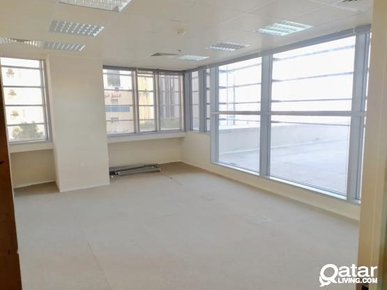 118 Sqm Partitioned Office Available in Corniche Area