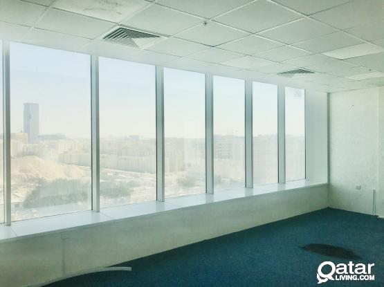 1 Month Free ! 125 Sqm Partitioned Office Available in Alsadd