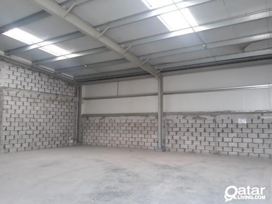 140 Sqm Carpentry or Aluminium or Signage Workshop Available