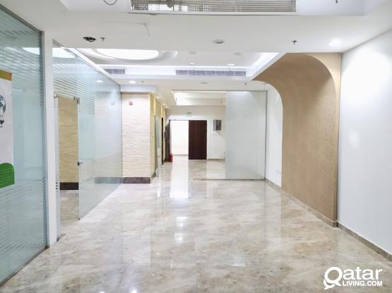 Well Partitioned 191 Sqm Office Space Available in Salwa road