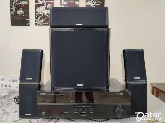 YAMAHA receivers and speakers