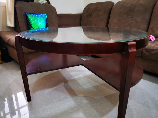 Tea table and sofa