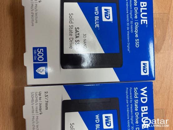 SSD 500 GB (WD blue )