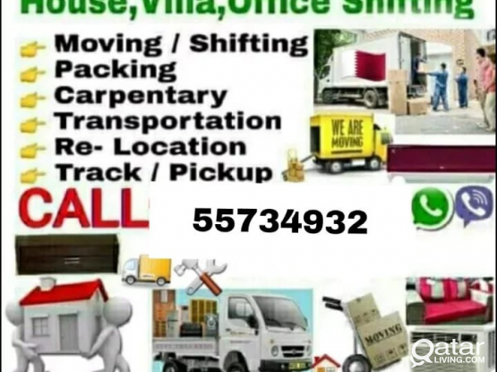 Moving packing Any Time Services Qatar Call Me