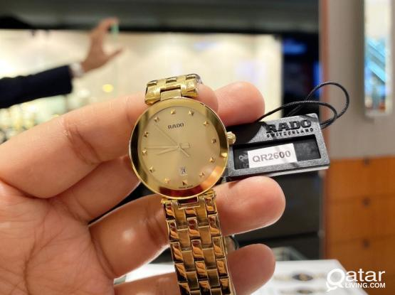Rado Watch For Ladies Selling For Lowest Price.