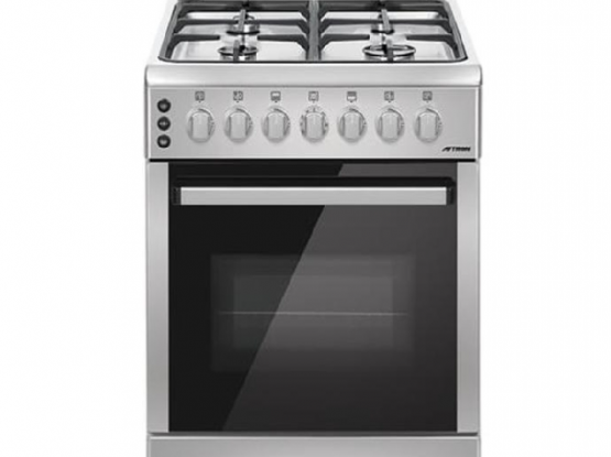 Cooking range with Grill & Oven + Free Flask's