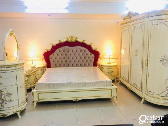 King size bedroom set for sale 200x200 cm