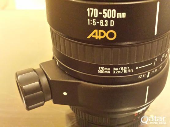 sigma lens 170-500 for nikon