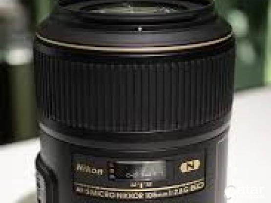 for sale lens for nikon full frame AF-S 105mm-208 G-ED